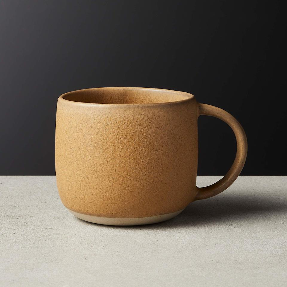 <p>I have this <span>Axel Caramel Mug</span> ($7) and I'm so happy with it. It not only looks stylish, but it's also sturdy and easy to wash. With its curved silhouette and matte caramel glaze, it will seamlessly blend with your farmhouse decor.</p>