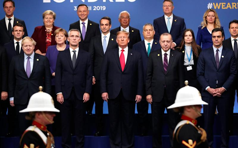 Trump was reverential to strongman leaders such as Putin of Russia and Erdogan of Turkey - AP