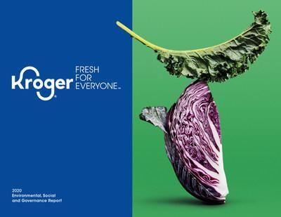 Kroger's 2020 Environmental, Social and Governance Report outlines the company's improved performance on Zero Hunger | Zero Waste and sustainability commitments.