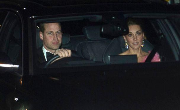 PHOTO: Prince William and Catherine, Duchess of Cambridge, arrive for 70th birthday party for Prince Charles at Buckingham Palace, London, Nov. 14, 2018. (Paul Grover/REX/Shutterstock)