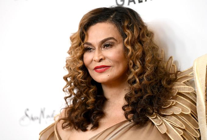 Strict Granddaughter Blue Ivy Scolds Tina Knowles at the Theater