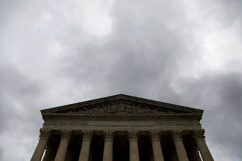 FILE PHOTO: The Supreme Court of the United States in seen in Washington, D.C.