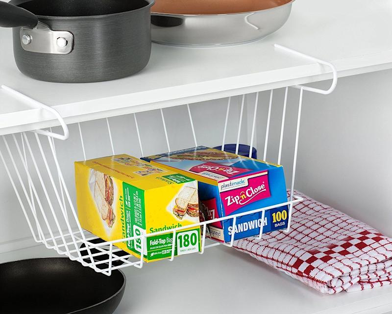 "<a href=""https://www.amazon.com/Francois-Mimi-Smart-Basket-Organizer/dp/B0763SJ5JF/"" target=""_blank"">Use it to store </a>easy-to-lose essentials."