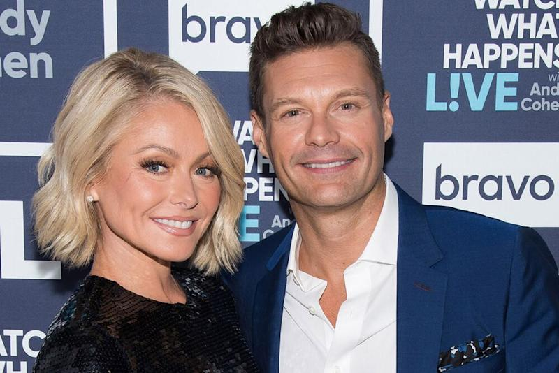 Kelly Ripa and Ryan Seacrest | Charles Sykes/Getty Images