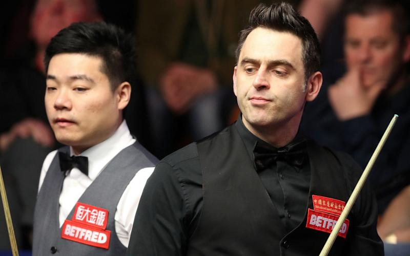 Ronnie O'Sullivan leaves himself too much to do - PA