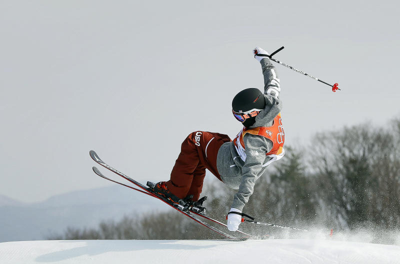 USA's Nick Goepper wins silver medal in freeski slopestyle