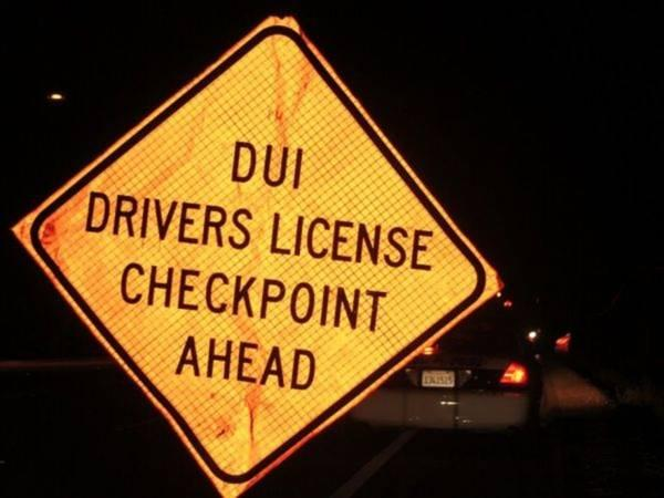 DUI Checkpoint Announced For Lake Elsinore