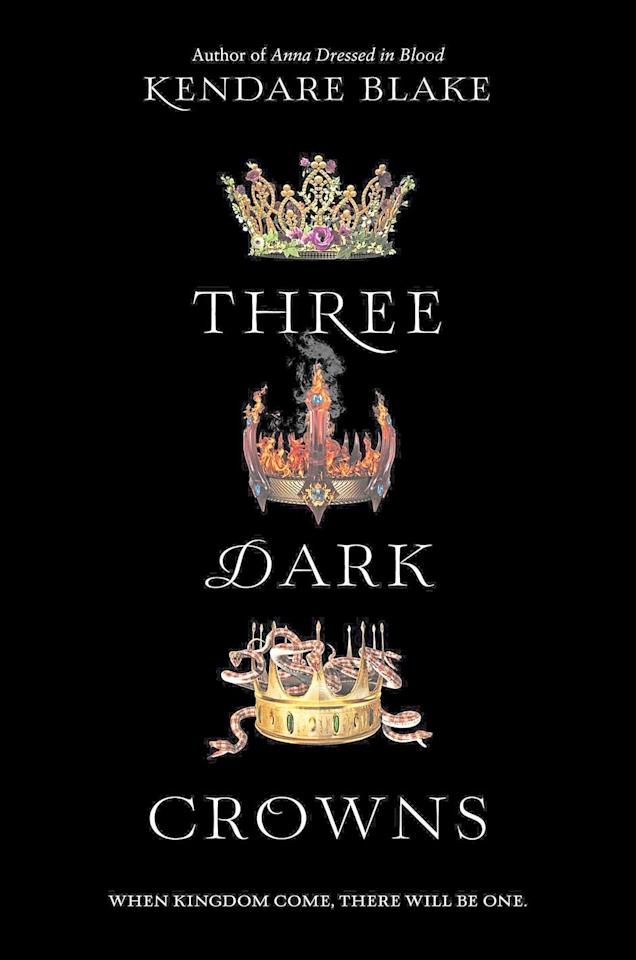 "<p>Kendare Blake's <a href=""https://www.popsugar.com/buy?url=https%3A%2F%2Fwww.amazon.com%2FThree-Dark-Crowns-Kendare-Blake%2Fdp%2F0062385437&p_name=%3Cstrong%3EThree%20Dark%20Crowns%3C%2Fstrong%3E&retailer=amazon.com&evar1=buzz%3Aus&evar9=46487730&evar98=https%3A%2F%2Fwww.popsugar.com%2Fentertainment%2Fphoto-gallery%2F46487730%2Fimage%2F46487731%2FThree-Dark-Crowns&list1=books%2Cfall%2Cya%20books&prop13=api&pdata=1"" rel=""nofollow"" data-shoppable-link=""1"" target=""_blank"" class=""ga-track"" data-ga-category=""Related"" data-ga-label=""https://www.amazon.com/Three-Dark-Crowns-Kendare-Blake/dp/0062385437"" data-ga-action=""In-Line Links""><strong>Three Dark Crowns</strong></a> takes dark fantasy to a whole new level by pitting three sisters against one another. In every generation, a set of triplets is born on the island of Fennbirn: three sisters, each with a magical ability, whose destiny is to fight each other to the death if they want to become the queen. Atmospheric and daring, this series is full of machinations and twists that will make you gasp.</p>"