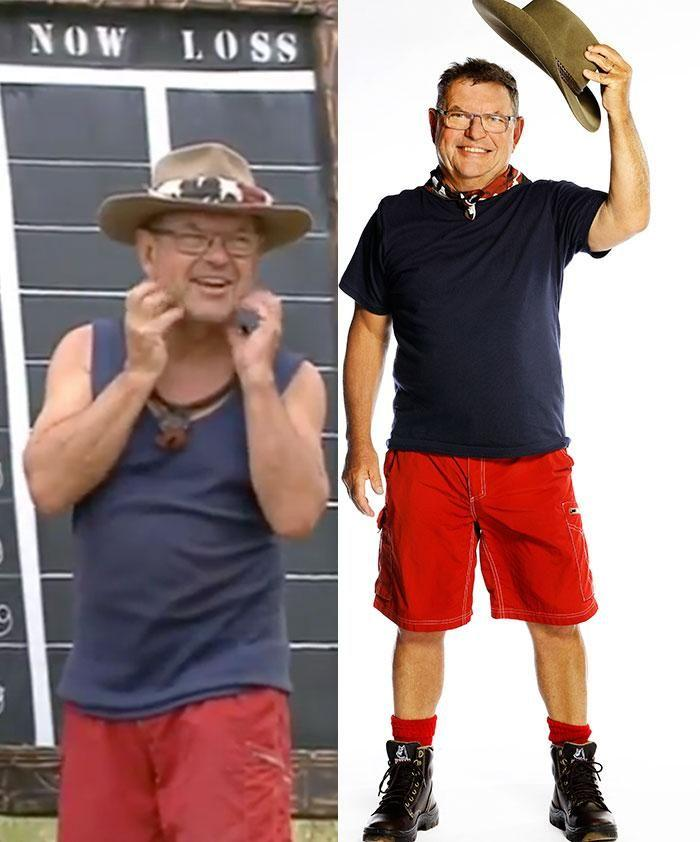 Meanwhile Steve is down 10kg. Source: Channel 10