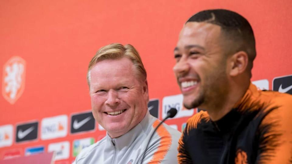 Training & Press conference Holland in Estonia | Soccrates Images/Getty Images