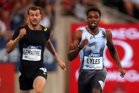 Athletics: Lyles romps to 200m victory in Paris