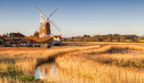 """<p>This marvellous village is characterised by its 18th century windmill, which is like something out of a painting. Cley next the Sea is a paradise for nature lovers, with Cley Marshes, a nature reserve owned by the Norfolk Wildlife Trust - this is the place to spot birds. It's also terrific for walkers as Cley sits on the Norfolk Coast Path, so you can walk to Holme next the Sea.</p><p><a class=""""link rapid-noclick-resp"""" href=""""https://go.redirectingat.com?id=127X1599956&url=https%3A%2F%2Fwww.booking.com%2Fcity%2Fgb%2Fcley-next-the-sea.en-gb.html%3Faid%3D2070935%26label%3Dnorfolk-towns&sref=https%3A%2F%2Fwww.redonline.co.uk%2Ftravel%2Finspiration%2Fg36748653%2Fnorfolk-towns-villages%2F"""" rel=""""nofollow noopener"""" target=""""_blank"""" data-ylk=""""slk:BROWSE PLACES TO STAY NEAR CLEY"""">BROWSE PLACES TO STAY NEAR CLEY</a></p>"""