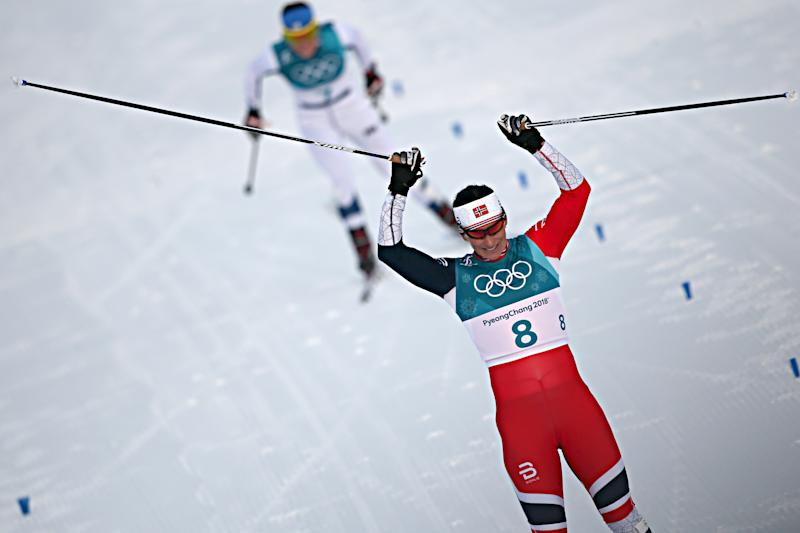On Saturday, Norway's Bjoergen became the most decorated female Olympian of all-time, winning her 11th medal.
