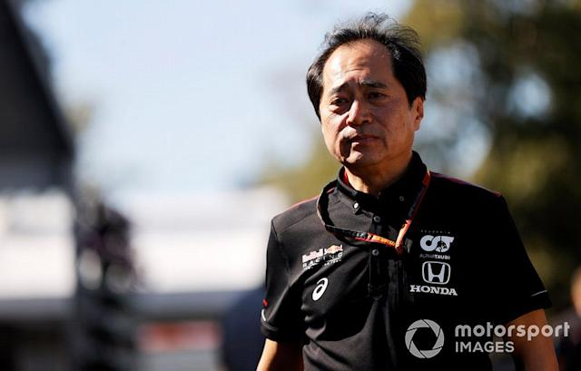 "Toyoharu Tanabe, director técnico de Honda F1 <span class=""copyright"">Andy Hone / Motorsport Images</span>"