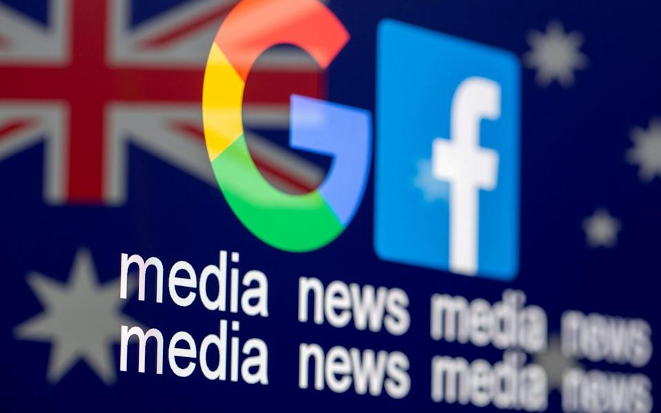 Australia has introduced new laws seeking to stop Google and Facebook using news without paying publishers - Dado Ruvic /Reuters