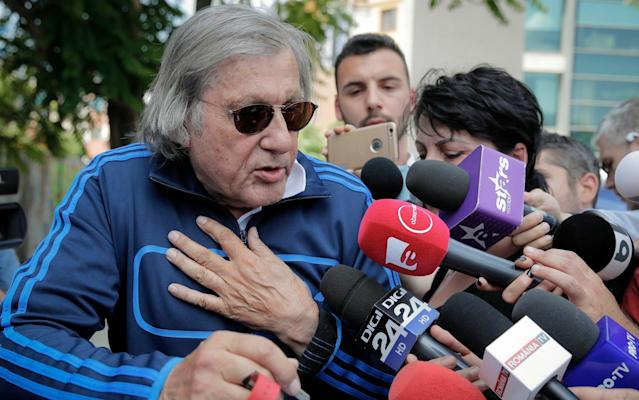 "Former tennis player Ilie Nastase was arrested twice in the space of six hours in his native Romania on Friday, first on suspicion of driving a car while drunk and refusing to take a breathalyzer test, and then for going through a red light on a scooter. Nastase had a level of 0.55 mg of alcohol per liter of breath, Bucharest chief police traffic officer Victor Gilceava said, far enough over the legal limit to face a maximum five-year prison sentence. Police initially stopped the 71-year-old Nastase around 4.45 a.m. while he was driving after a night out in the swanky Herestrau Park area of Bucharest. They said he was visibly drunk; he said he'd had three beers. Gilceava said officers had to block Nastase's vehicle as he failed to stop. Police declined to say who else was in the vehicle, but Romania TV reported he was with two women. Nastase, currently in divorce proceedings from his fourth wife, Brigitte, is known for loving the nightlife. The former U.S. and French Open champion, and the bad boy of tennis in the 1970s and early 1980s, refused to take a breathalyzer and officers removed him from the vehicle and handcuffed him. Ilie Nastase caused uproar when captain of the Romanian Fed Cup team last year Credit: EPA He was later released as police opened a criminal investigation against him for drunken driving and failing to take a breathalyzer test. Police stopped him again about six hours later after he allegedly went through a red light on a scooter. His driving license had been suspended after the first incident. Nastase claimed police manhandled him and threw him to the ground during his first arrest. The second time he was apprehended, he was filmed mocking police officers and accusing them of acting like the communist-era militia. Nastase got in a police car and placed a police helmet on his head during that second arrest. He was questioned for an hour and, when he left the police station, acknowledged that he probably made a mistake by refusing to take the breathalyzer test. As he left the police station, a disheveled looking Nastase fought his way through a media scrum wearing sunglasses and a blue tracksuit top. He was bundled into a car. Rebooted Rafael Nadal remains master of clay The unpleasant news didn't stop with his arrests. Later, Nastase posted a message on Facebook asking for privacy after his elder sister died Friday, an event he said ""shattered"" him. ""In difficult times, you need support and understanding,"" Nastase said. Earlier, Nastase was fined 1,000 lei ($253) for being obstructive with police and his driving license was suspended for three months, but still faces charges of drunken driving and refusing a breathalyzer. Once the top-ranked player in the world, Nastase was renowned for his unpredictable and temperamental behavior on the tennis court, with his outbursts earning him the nickname ""Nasty."" He has retained those characteristics after retiring. Last year, Nastase was fined and banned for foul-mouthed comments and misconduct as Romania's Fed Cup captain after hurling abuse at British player Johanna Konta and the umpire during a Fed Cup match. He also made advances of a sexual nature toward Britain captain Anne Keothavong. In a separate incident, he was also found guilty by the International Tennis Federation of making ""racially insensitive"" remarks about the possible skin color of the then-unborn child of Serena Williams, who is married to internet entrepreneur Alexis Ohanian."