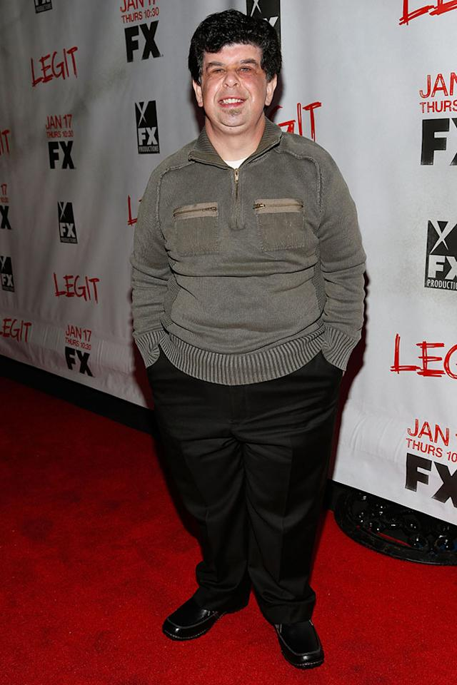"Nick Daley attends the screening of FX's new comedy series ""Legit"" on January 14, 2013 in Los Angeles, California."