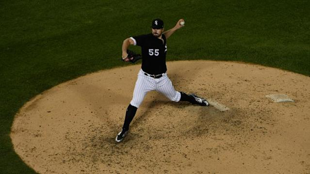 <p>Carlos Rodon pitched perhaps his best game in a White Sox uniform Wednesday, conjuring mental images of him leading the team's rotation of the future.</p>