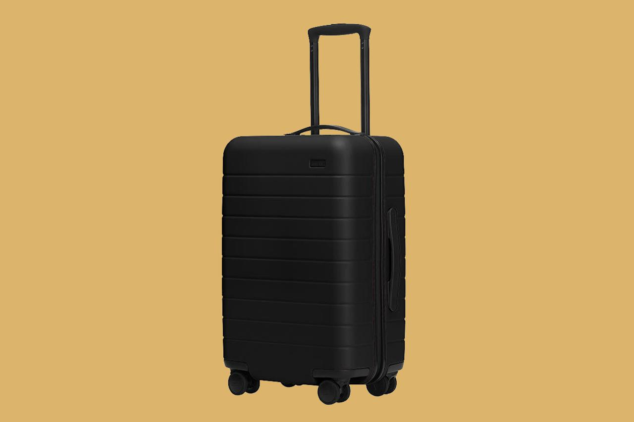 """<p>A carry-on suitcase with a serious following, this Away best seller features a lightweight, yet durable polycarbonate shell, an ejectable battery that charges your phone, and, most importantly, <a href=""""https://www.marthastewart.com/1540722/items-you-should-repair-instead-replace"""">a lifetime guarantee</a>. """"You don't want something that's going to break and ultimately end up in a landfill shortly after getting it,"""" Hanly explains.</p> <p><strong><em>Shop Now: </em></strong><em>Away The Carry-On, $225, <a href=""""https://www.pntrac.com/t/8-11514-131940-155614?sid=MSL%2CTheBestCarry-OnLuggageforAnyTypeofTraveler%2Cgrello2%2CTra%2CGal%2C7614996%2C202002%2CI&#038;url=https%3A%2F%2Fwww.awaytravel.com%2Fsuitcases%2Fcarry-on%2Fblack"""" data-ecommerce=""""true"""" target=""""_blank"""" rel=""""nofollow"""" data-tracking-affiliate-name=""""www.awaytravel.com"""" data-tracking-affiliate-link-text=""""awaytravel.com"""" data-tracking-affiliate-link-url=""""https://www.awaytravel.com/suitcases/carry-on/black"""" data-tracking-affiliate-network-name=""""Pepperjam"""">awaytravel.com</a></em><em>.</em></p>"""