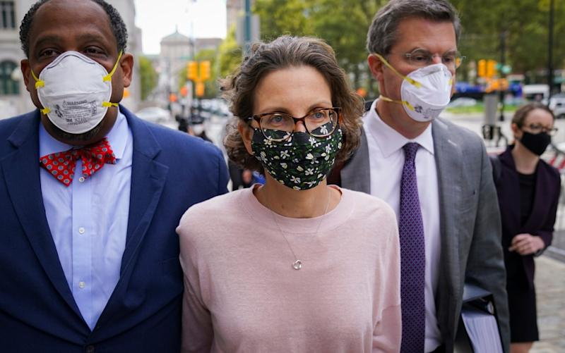Bronfman was on Wednesday sentenced to more than six years in prison - AP