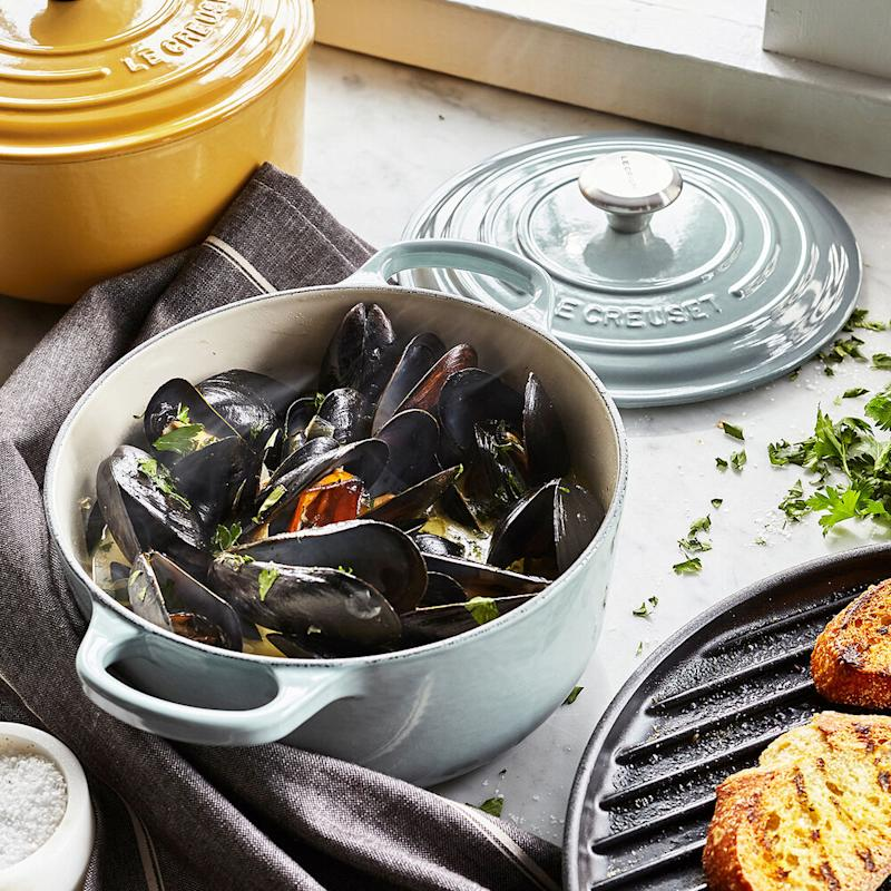 Nothing compares to you: Le Creuset, the gorgeous enamel cast-iron cookware that launched a thousand meals, is on sale today only! (Photo: Sur La Table)
