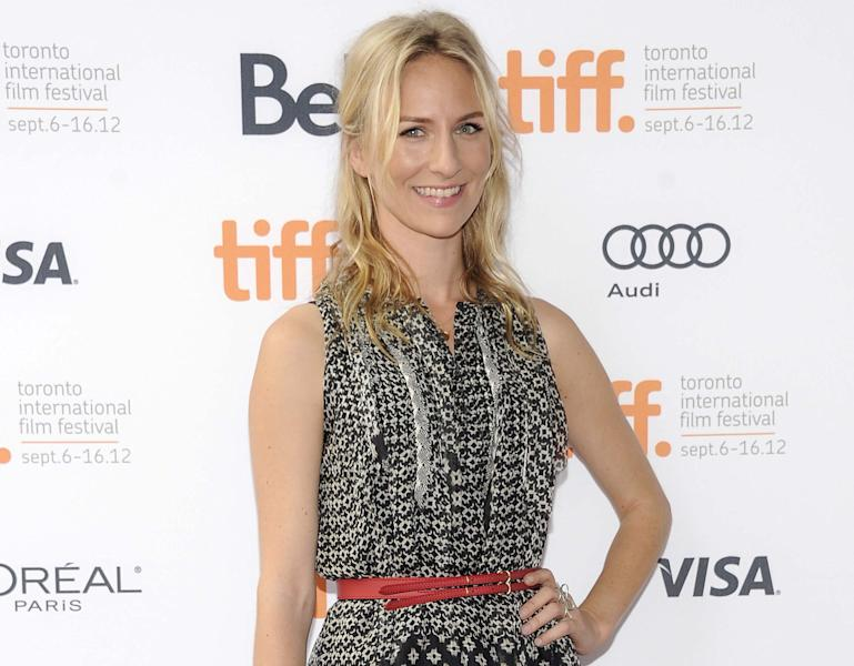 "FILE - This Sept. 7, 2012 file photo shows actress Mickey Sumner at the ""Imogene"" premiere during the Toronto International Film Festival in Toronto. Sumner has signed up to make her off-Broadway debut in Craig Lucas's new comedy ""The Lying Lesson."" The Atlantic Theater Company said Tuesday, Jan. 22, 2013, that Sumner, daughter of musician Sting and Trudie Styler will star opposite Carol Kane in the comic thriller. (Photo by Evan Agostini/Invision/AP, file)"