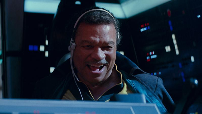 Lando Calrissian in Star Wars 9: The Rise of Skywalker