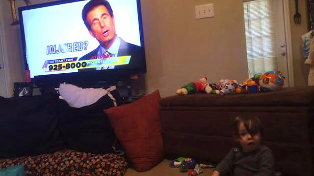This 2-Year-Old Loves a Local Personal Injury Lawyer So Much That He Made It His Birthday Theme