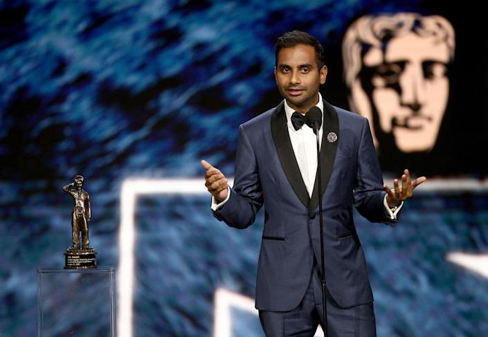 Amy Schumer spoke about the accusations against her friend Aziz Ansari. (Photo: Getty Images)