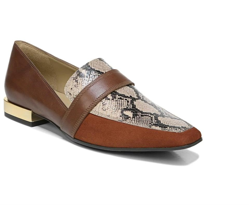 <p>The gold detail of these <span>Naturalizer Cicero Loafers</span> ($48, originally $120) make them look so much more expensive.</p>