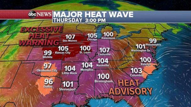 PHOTO: A major heat wave is forecast for later in the week. (ABC News)