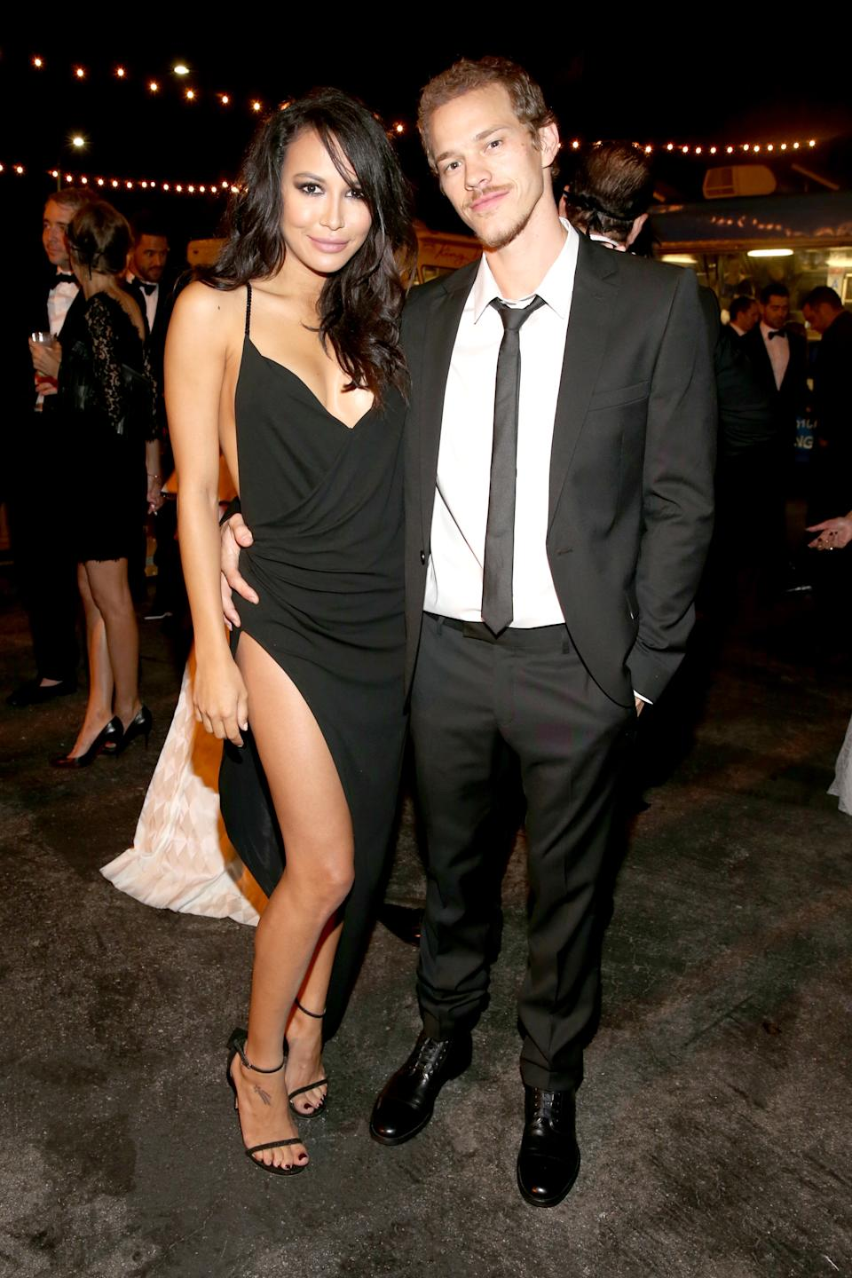 Naya Rivera and Ryan Dorsey are pictured together in 2014. (Photo: Getty Images)