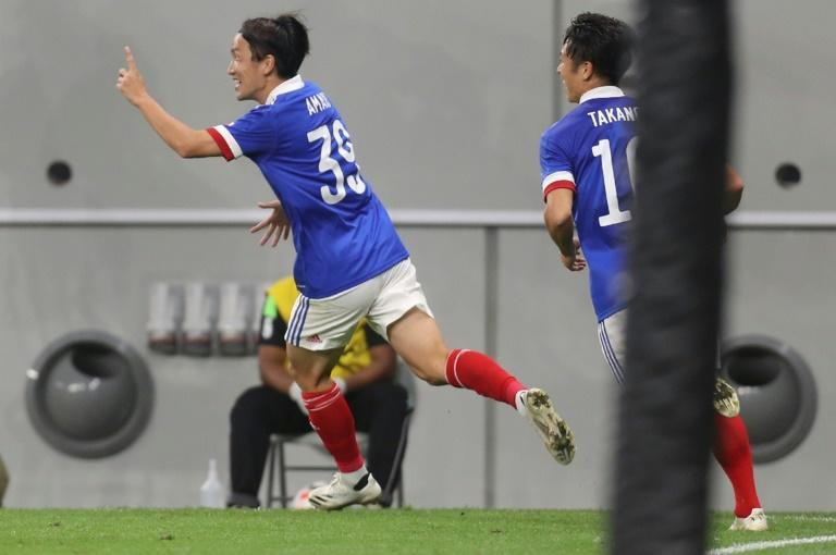 Jun Amano scored the only goal of the game as Yokohama beat Shanghai SIPG in the Asian Champions League