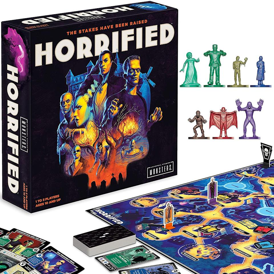 Horrified: Universal monsters strategy board game, 2 person board games