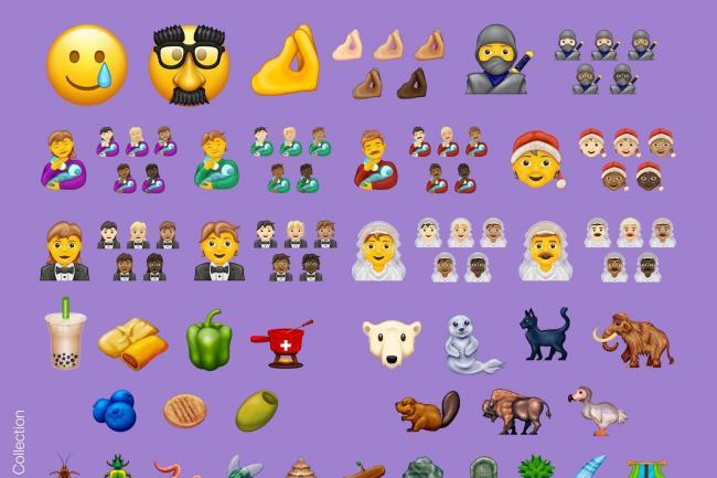 A new batch of emojis have been released. [Photo: Unicode Consortium]