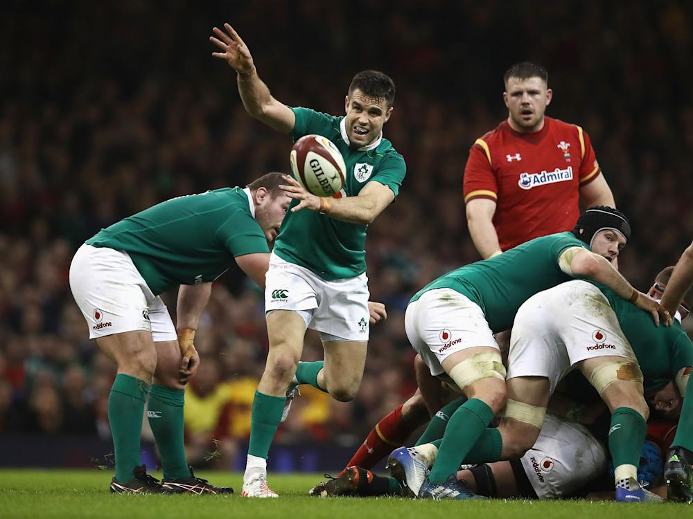 Conor Murray has declared himself fully fit to hand the British and Irish Lions an injury boost: Getty