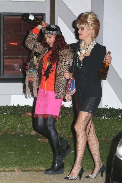 <p>Jessica Alba and friend Kelly Sawyer nailed their look at Kate Hudson's annual Halloween bash last year. The actresses sought inspiration from the nation's most fabulous duo, Eddy and Patsy. So if fake blood and gore isn't for you, see Halloween as a chance to look wonderful, sweetie darling.<br /><em>[Photo: Pinterest]</em> </p>