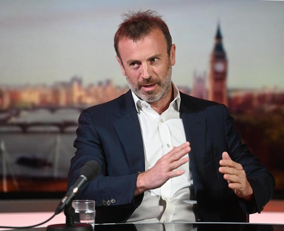 Ovo chief executive Stephen Fitzpatrick said consumers are protected by the price cap (Jeff Overs/BBC/PA) (PA Media)