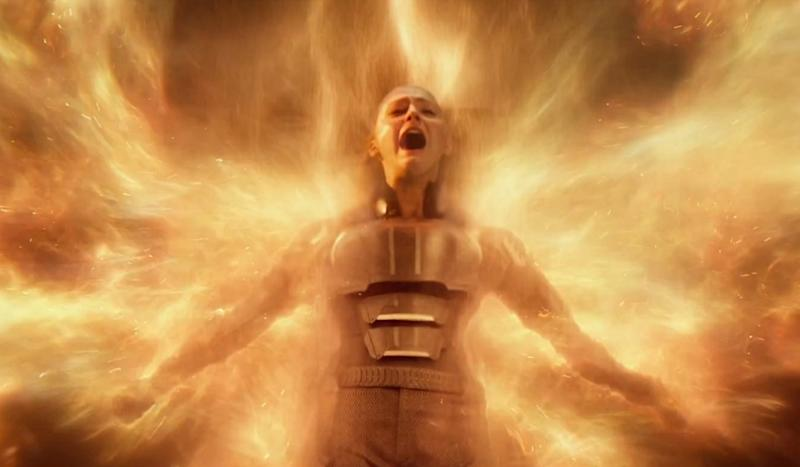 Sophie Turner becomes the Phoenix in X-Men: Apocalypse - Credit: 20th Century Fox