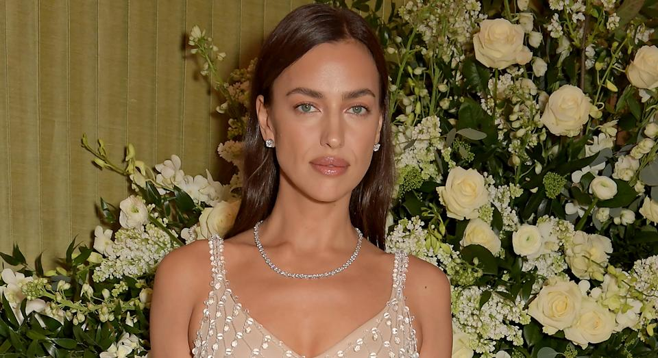 Irina Shayk shares her skincare routine and the affordable hydrating mist she swears by for glowing skin.  (Getty Images)