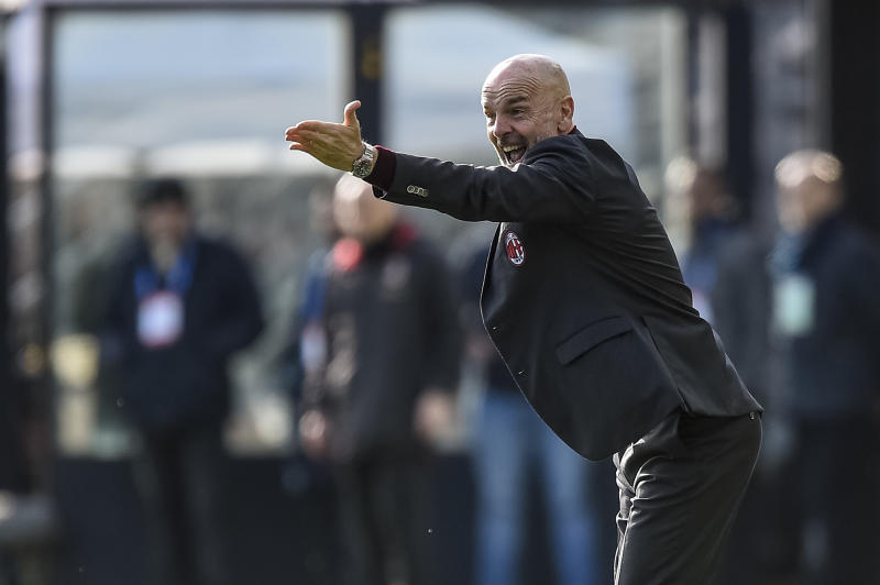 Things aren't going great for Stefano Pioli and AC Milan yet again this season. (Photo by Nicolò Campo/LightRocket via Getty Images)