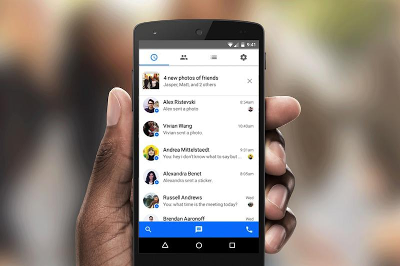 Facebook Messenger for Android supports multiple accounts, keeps