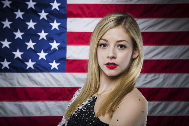 Olympic figure skater Gracie Gold poses for a portrait during the 2013 U.S. Olympic Team Media Summit in Park City, Utah September 30, 2013. REUTERS/Lucas Jackson (UNITED STATES - Tags: SPORT OLYMPICS FIGURE SKATING PORTRAIT)