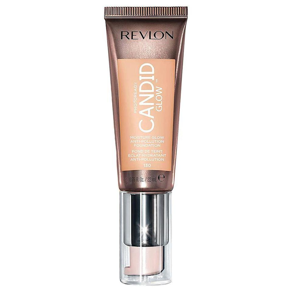 """<p><strong>Revlon</strong></p><p>amazon.com</p><p><strong>$8.97</strong></p><p><a href=""""https://www.amazon.com/dp/B07XTSY7BL?tag=syn-yahoo-20&ascsubtag=%5Bartid%7C2089.g.37048952%5Bsrc%7Cyahoo-us"""" rel=""""nofollow noopener"""" target=""""_blank"""" data-ylk=""""slk:Shop Now"""" class=""""link rapid-noclick-resp"""">Shop Now</a></p><p>We all love a bargain-friendly drugstore beauty haul, and this hydrating foundation is on the top of our under-$10 wishlist. </p><p>This foundation is infused with hydrating prickly pear oil and vitamin E to nourish your skin while evening your tone. Its silky texture glides on skin like a moisturizer but stays put and provides a beautifully lightweight finish like a true foundation should. It's also free of oils, parabens, phthalates, synthetic dyes, and fragrances, so it's a great pick for sensitive skin types as well.</p><p>The one downfall: This line only has 16 shades, and their deepest shade is still pretty light.</p>"""