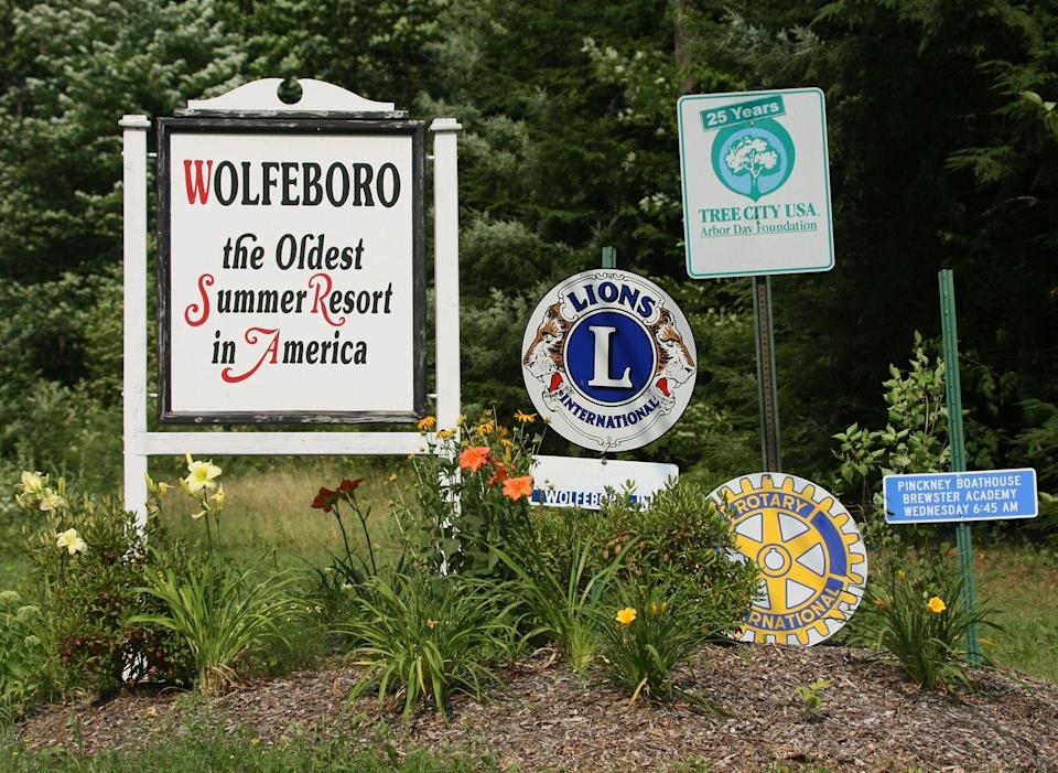 """<p>Spending the summer in New Hampshire <a href=""""https://www.melansonrealestate.com/wolfeboro-nh-area-info/"""" rel=""""nofollow noopener"""" target=""""_blank"""" data-ylk=""""slk:has been a thing since 1768"""" class=""""link rapid-noclick-resp"""">has been a thing since 1768</a> — at least in the town of Wolfeboro, which is known as the oldest summer resort in America. </p><p><strong>RELATED: </strong><a href=""""https://www.goodhousekeeping.com/life/travel/g26148438/best-all-inclusive-family-resorts/"""" rel=""""nofollow noopener"""" target=""""_blank"""" data-ylk=""""slk:The 15 Best All-Inclusive Family Resorts That Make Vacationing a Breeze"""" class=""""link rapid-noclick-resp"""">The 15 Best All-Inclusive Family Resorts That Make Vacationing a Breeze</a></p>"""