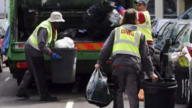 A rubbish purchase? Waste-obsessed five-year-old bought £3,500 BIN LORRY with his mum's credit card on eBay