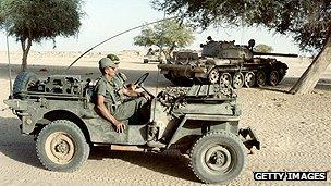 French troops in Chad