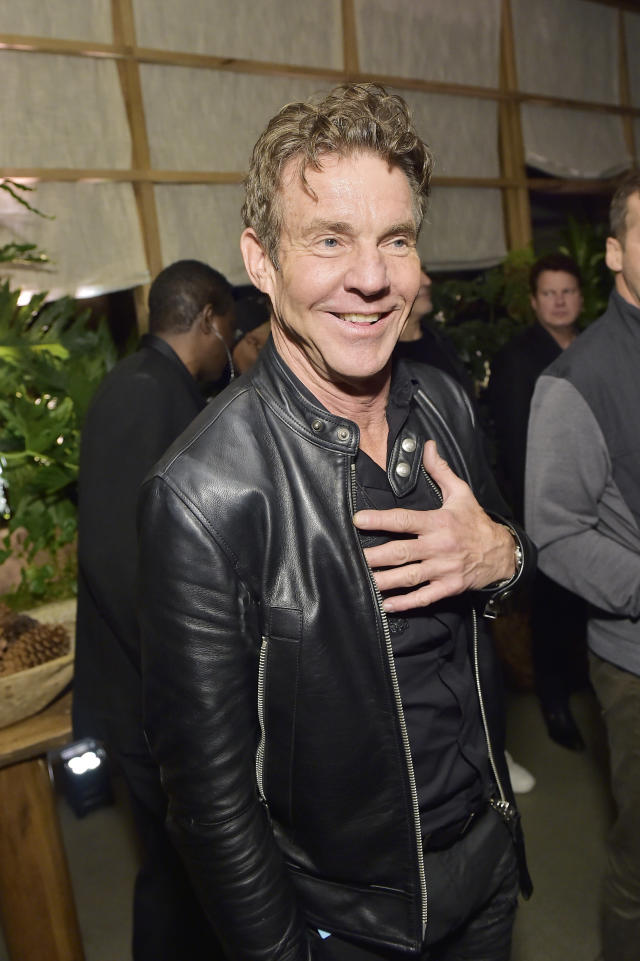 Dennis Quaid attends FIJI Water At Republic Records 2020 Grammy After Party on January 26, 2020 in West Hollywood, California. (Photo by Stefanie Keenan/Getty Images for FIJI Water)