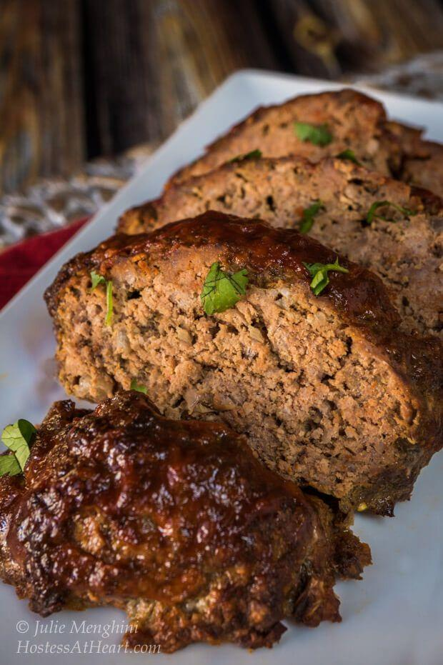 """<p>Tired of hearing about how great your significant other's mom's cooking is? Next date night, make Mom's cooking a distant memory (if only temporarily) with this down-home, super simple meatloaf, complete with perfect crust.<br><br><strong>Get the recipe at <a href=""""https://hostessatheart.com/easy-meatloaf-recipe/"""" target=""""_blank"""">Hostess at Heart</a>.</strong></p>"""
