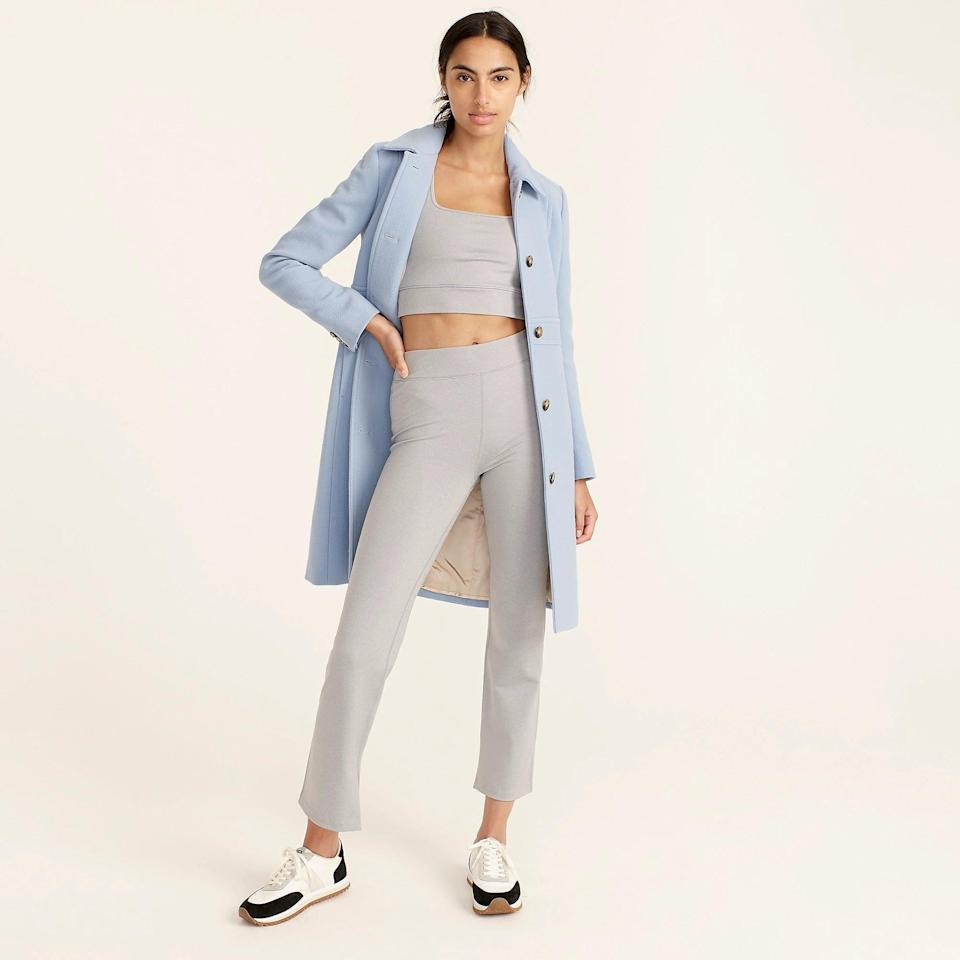 <p>The <span>J.Crew Classic Day Coat</span> ($398) is a wardrobe staple. It comes in a bunch of different colors, but this year, we're going for the soft blue.</p>